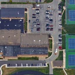 Forest Park Tennis Courts in Noblesville IN